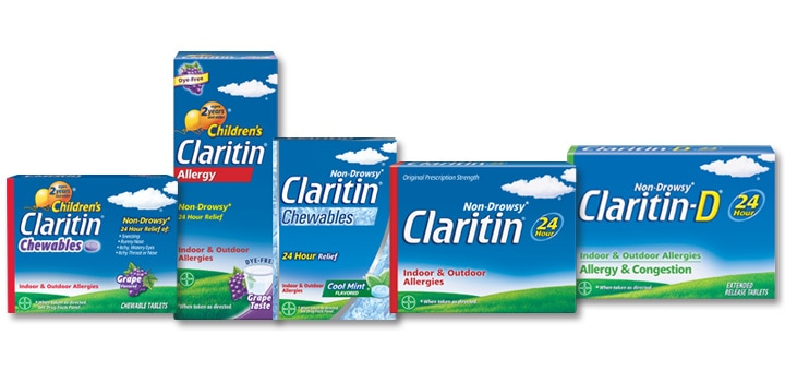 Claritine family of products